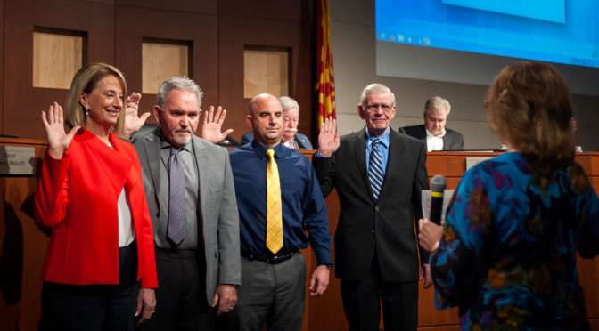 Councilmember Ken Remley Sworn in during City Hall Ceremony