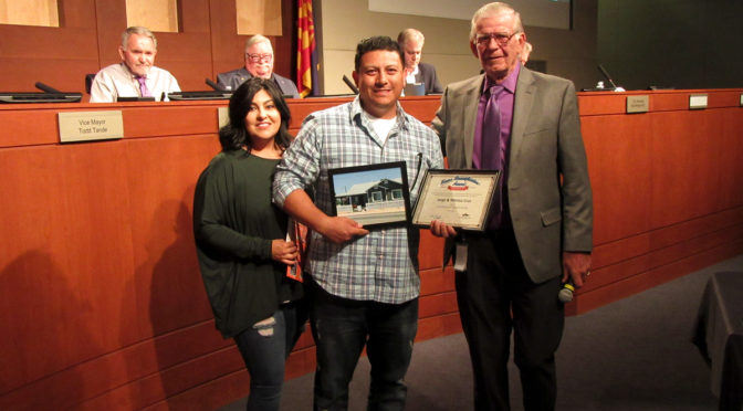 Cruz family wins first D4 Home Beautification Award