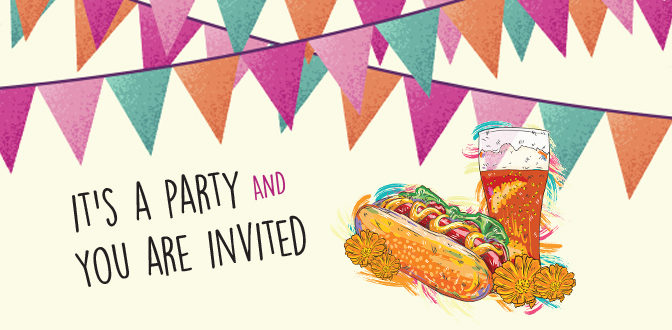 IT'S A PARTY & YOU'RE INVITED!