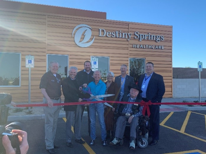 destiny springs ribbon cutting