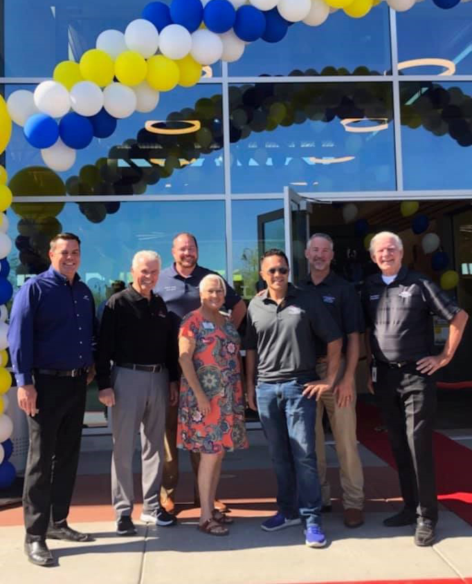 City of Surprise Councilmembers at LA Fitness Grand Opening